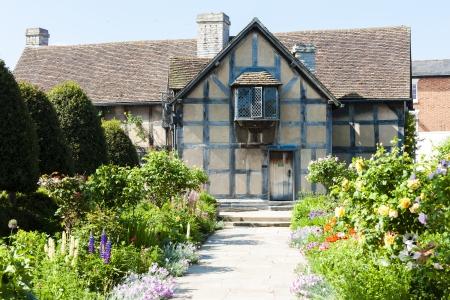shakespeare: birthplace of William Shakespeare, Stratford-upon-Avon, Warwickshire, England Editorial