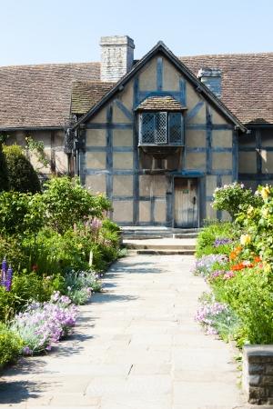 william shakespeare: birthplace of William Shakespeare, Stratford-upon-Avon, Warwickshire, England Editorial