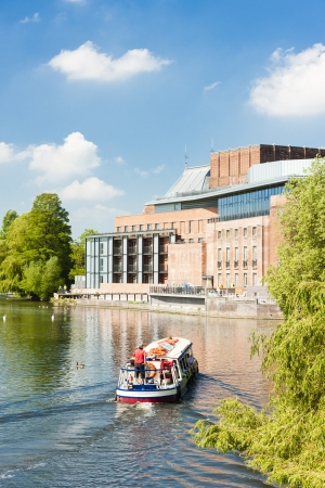 stratford: Royal Shakespeare Company Theatre, Stratford-upon-Avon, Warwickshire, England
