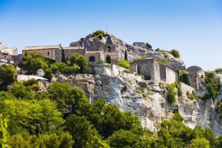 les: Les Baux de-Provence, Provence, France Stock Photo
