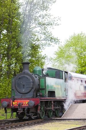 steam train, Strathspey Railway, Highlands, Scotland Stock Photo - 21842163