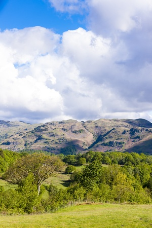 landscape of Lake District, Cumbria, England Stock Photo - 21945976