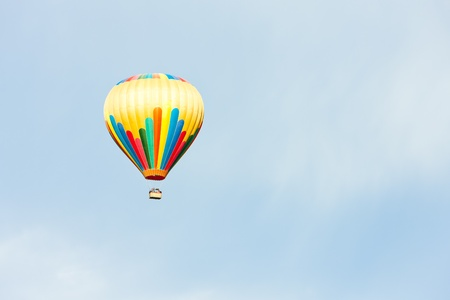 hot air balloon, Provence, France