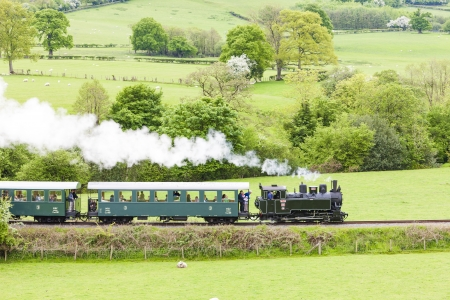 Welshpool and Llanfair Light Railway, Wales Stock Photo - 22413524