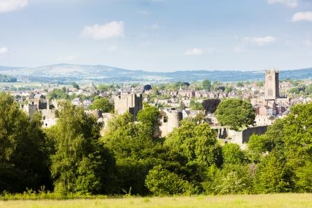 midlands: ruins of Ludlow Castle, Shropshire, England Stock Photo