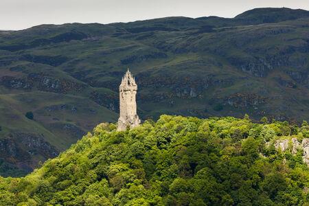 william: William Wallace Monument, Stirling, Scotland