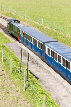 narrowgauge: Ravenglass and Eskdale narrow gauge railway, Cumbria, England Stock Photo