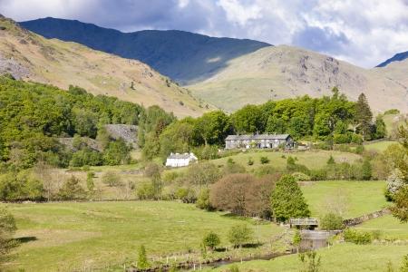 landscape of Lake District, Cumbria, England Stock Photo - 25413109