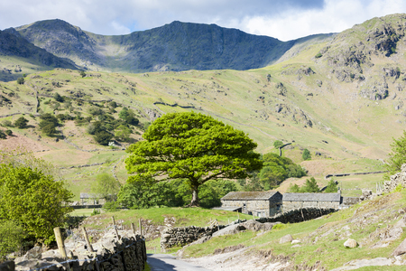 landscape of Lake District, Cumbria, England Stock Photo - 25413110
