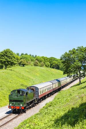 warwickshire: steam train, Gloucestershire Warwickshire Railway, Gloucestershire, England
