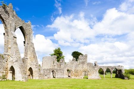 abbey ruins abbey: ruins of Bayham Abbey, Kent, England