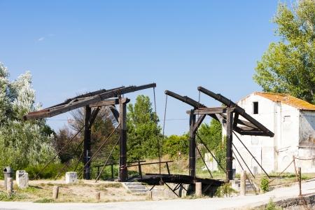 van gogh: Vincent van Gogh bridge near Arles, Provence, France