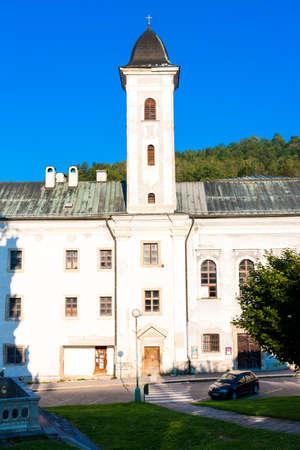 stefanik: The Franciscan monastery, Stefanik Square, Kremnica, Slovakia