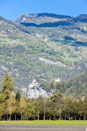 canton: Rhazuns Castle, canton Graubunden, Switzerland