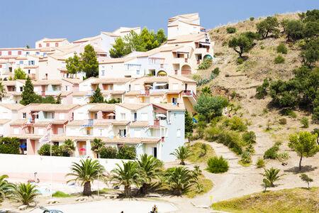 le cap: Le Village des Aloes, Languedoc-Roussillon, Francia
