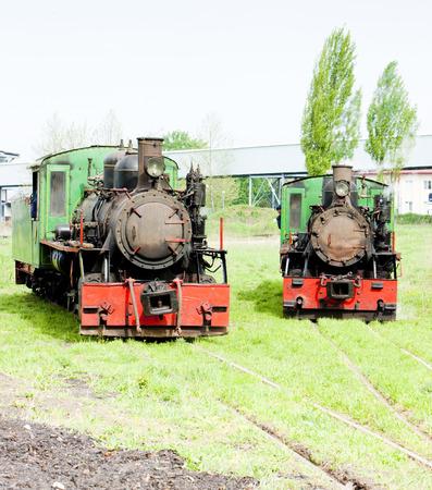 steam locomotives, Kostolac, Serbia Stock Photo - 28239609