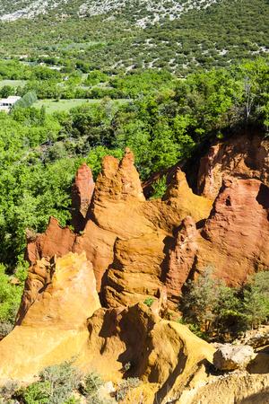 provencal: Colorado Provencal, Provence, France