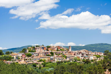 roussillon: Roussillon, Provence, France Stock Photo