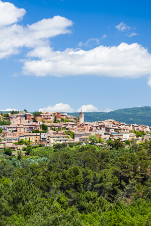 roussillon: Roussillon, Provence, France Stock Photo