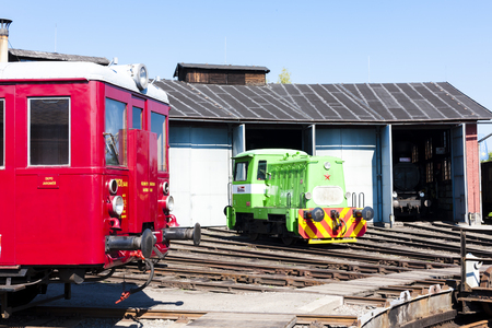 depot: depot in Jaromer, Czech Republic Editorial