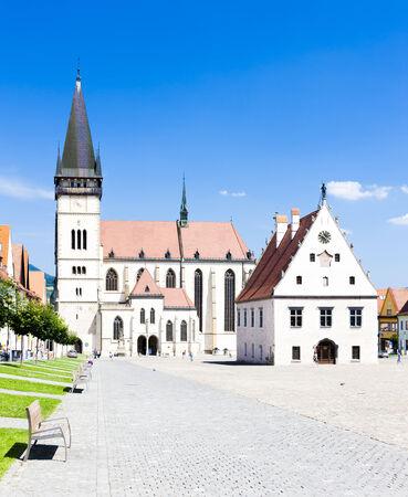 gildhall: Town Hall Square, Bardejov, Slovakia
