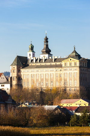 benedictine: monasterio benedictino en Broumov, Rep�blica Checa