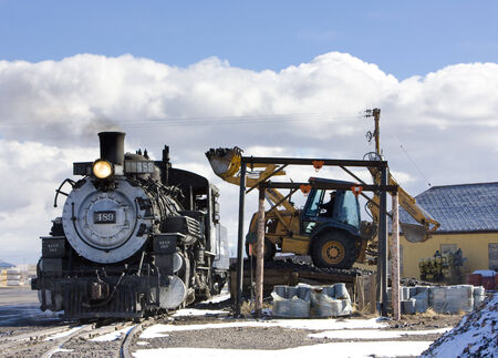 narrow gauge railroad: Cumbres and Toltec Narrow Gauge Railroad, Antonito, Colorado, USA