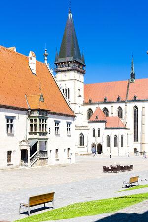town hall square: Town Hall Square, Bardejov, Slovakia