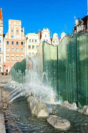main market: Piazza del Mercato, Wroclaw, Slesia, Polonia
