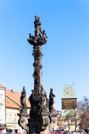 plaga: la columna de la peste en Rakovnik, Rep�blica Checa Editorial