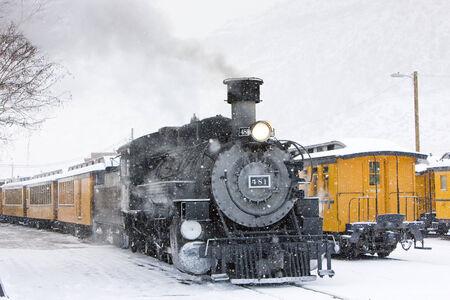 narrow gauge railroads: Durango and Silverton Narrow Gauge Railroad, Colorado, USA