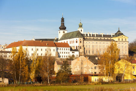 czech republic: Broumov, Czech Republic Stock Photo