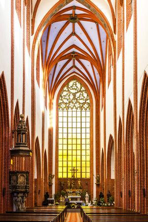 interior of St Mary Magdalenes Church, Wroclaw, Silesia, Poland