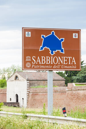 fortify: fortification of Sabbioneta city, Lombardy, Italy Editorial