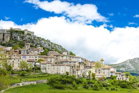var: Trigance, Var Department, Provence, France