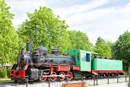 yugoslavia federal republic: steam locomotive, Kostolac, Serbia