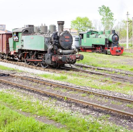 former yugoslavia: steam locomotives, Kolubara, Serbia