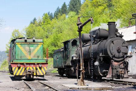 former yugoslavia: locomotives, delivery point in Oskova, Bosnia and Hercegovina