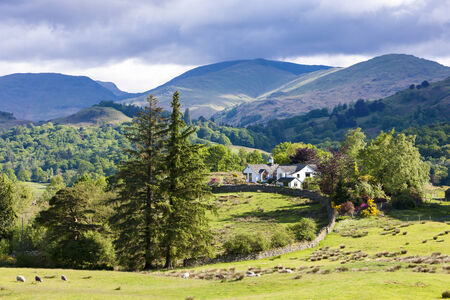 cumbria: landscape of Lake District, Cumbria, England