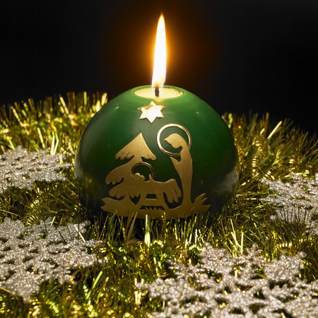 ilustrations: Christmas candle