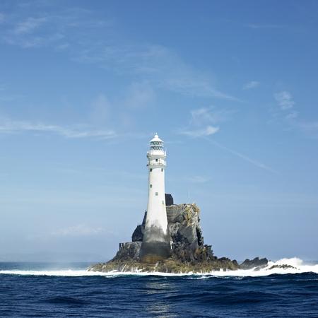 lighthouse, Fastnet Rock, County Cork, Ireland 写真素材