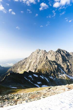 tatras tatry: Vysne koprovske sedlo, Vysoke Tatry (High Tatras), Slovakia