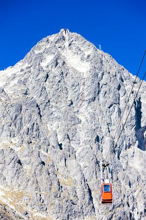 tatras tatry: cable car to Lomnicky Peak, Vysoke Tatry (High Tatras), Slovakia