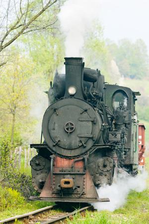 hercegovina: narrow gauge railway, Banovici, Bosnia and Hercegovina
