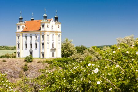 pilgrimage: pilgrimage chapel of Saint Florian, Moravsky Krumlov, Czech Republic