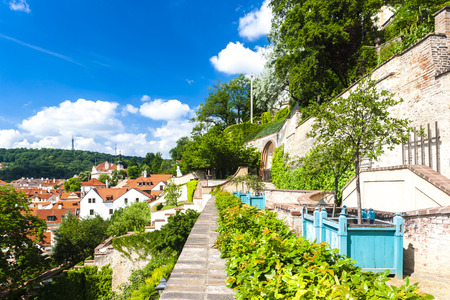 czech republic: Ledeburska Garden, Prague, Czech Republic