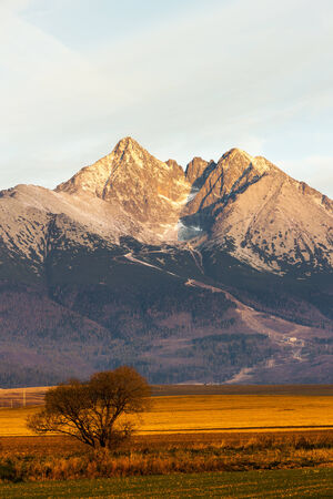 tatras tatry: surroundings of Lomnicky Peak, Vysoke Tatry (High Tatras), Slovakia