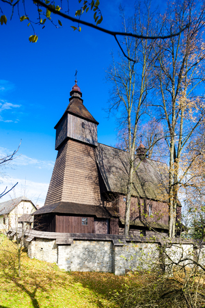 slovak republic: wooden church, Hervartov, Slovakia