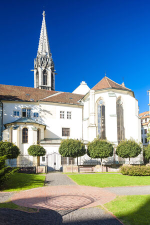 exaltation: church of Exaltation of the Holy Cross, Bratislava, Slovakia
