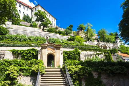Ledeburska Garden and Prague Castle, Prague, Czech Republic
